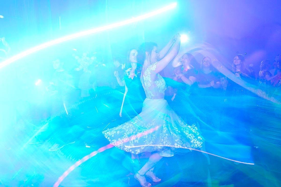 כלה ברחבת ריקודים